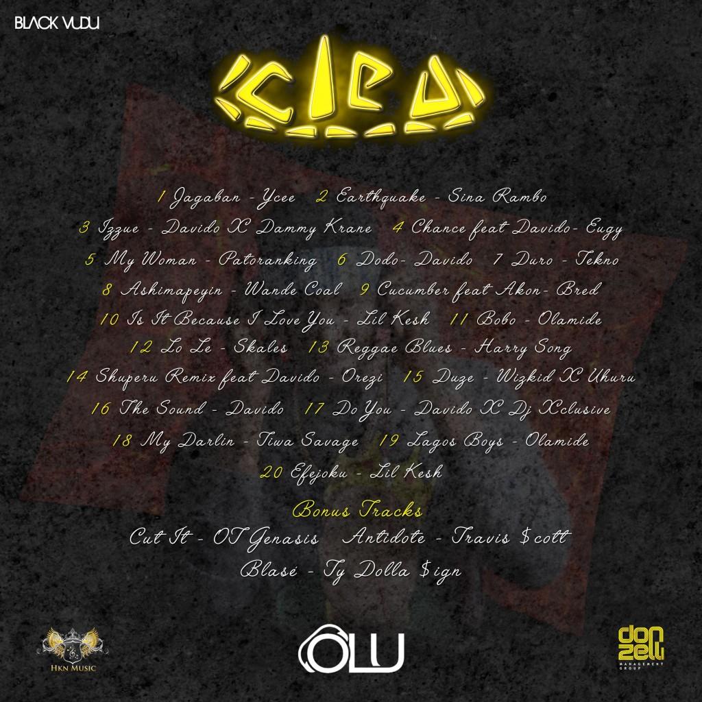 Cleo Track List