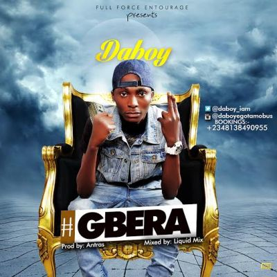 Daboy - Gbera Artwork