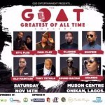 OLAMIDE, DJ JIMMY JATT, SOUND SULTAN, OLU MAINTAIN, STYL PLUS, ARAMIDE,  OTHERS TO PERFORM AT THE GREATEST OF ALL TIMES CONCERT