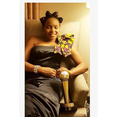 Yemi Alade and AFRIMMA for Best Female West Africa