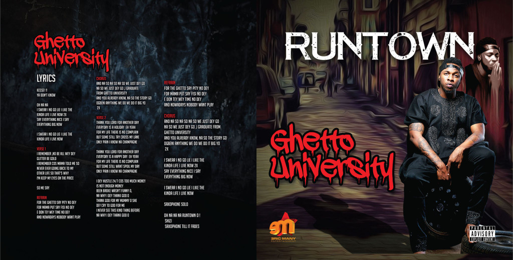 Runtown-GhettoUniversity_CD Sleeve