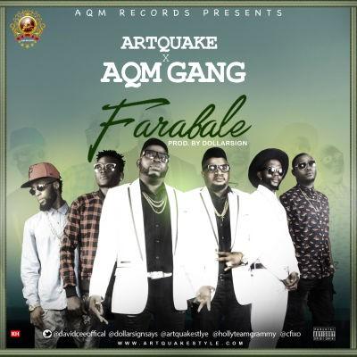 Artquake X AQM Gang-ART