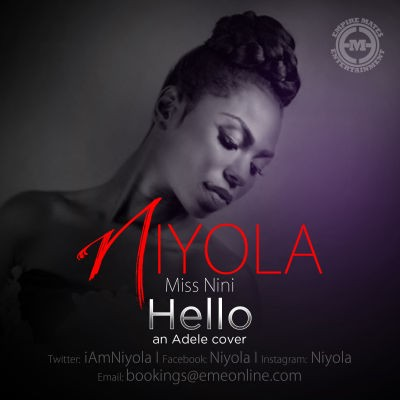 Niyola's Cover of Adele's_Hello