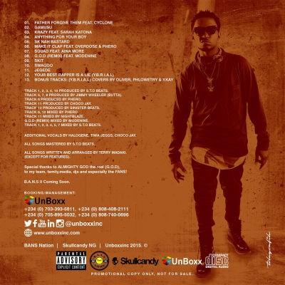 T.R-G.O.D-Tracklist