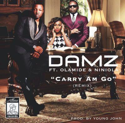 Damz - Carry Am Go (Remix) ft. Olamide & Niniola-ART