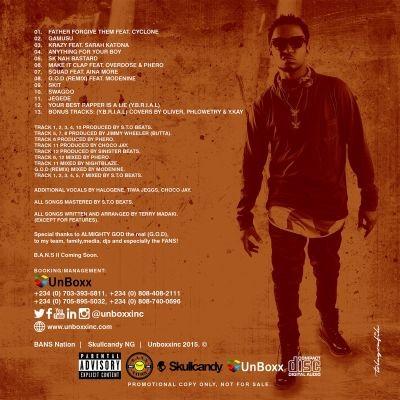 G.O.D EP Track List