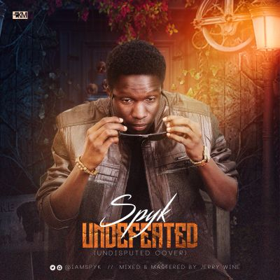 Spyk's undefeated cover art