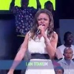 "#TECNOOwnTheStage: Watch This Lady's Mind Blowing Performance Of Sia's ""Titanium"""