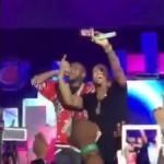 "VIDEO: Davido and Trey Songz Perform ""Aye"" at Rhythm Unplugged 2015"
