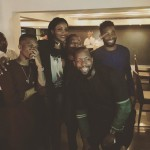 Seyi Shay, Wizkid and Tinie Tempah Spotted @ RSVP, V/I