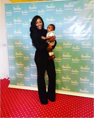 Tiwa Savage and son land new endorsement deal