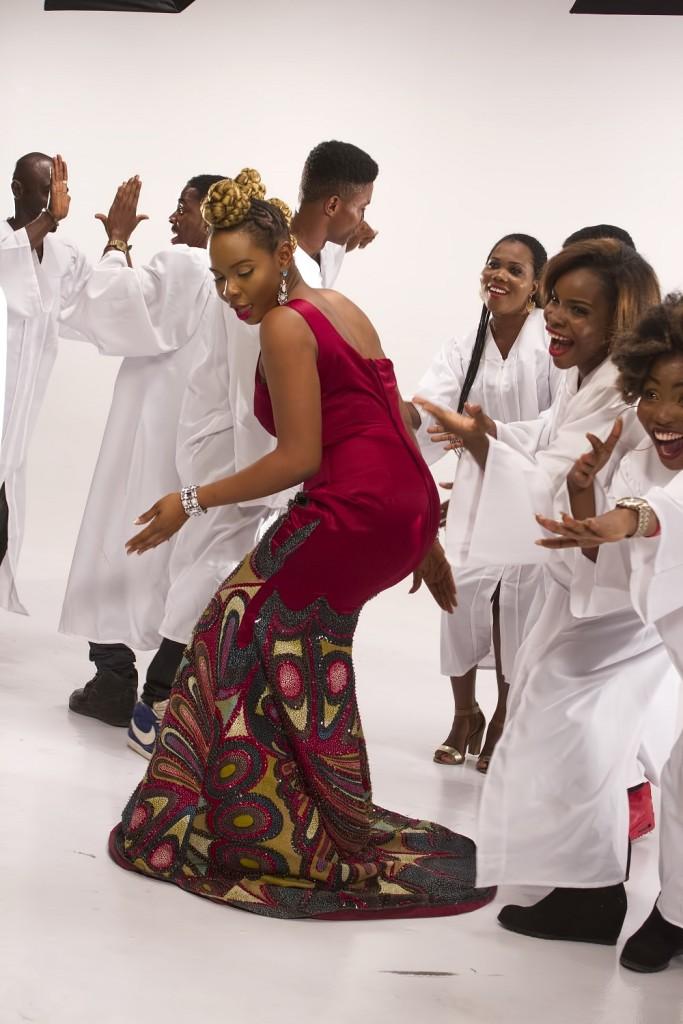 Yemi Alade - Na Gode [Swahili Version] B-T-S (4)