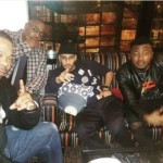 MC Galaxy Hints At New Collaboration As He Chills With Busta Rhymes And Swizz Beatz