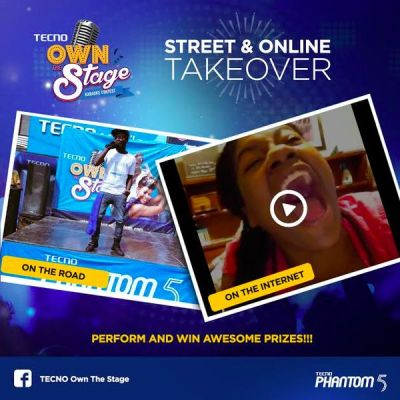 tecno own the stage road show