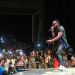 Flavour Thrills Fans In Ivory Coast (Photos)