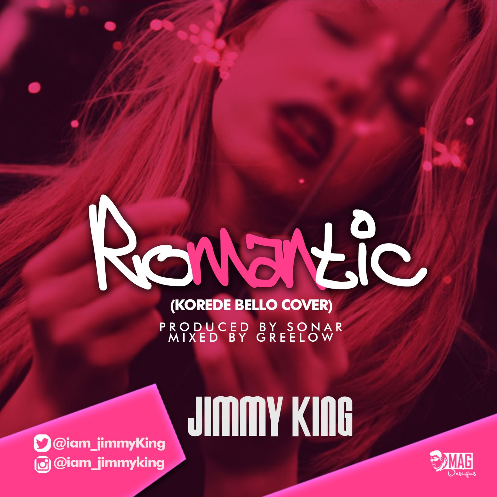 JimmyKing-Romantic Cover