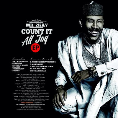 Mr 2kay -  Count It All Joy [Art Back]