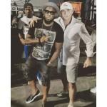 Timaya Meets US Rapper Pitbull In Trinidad And Tobago