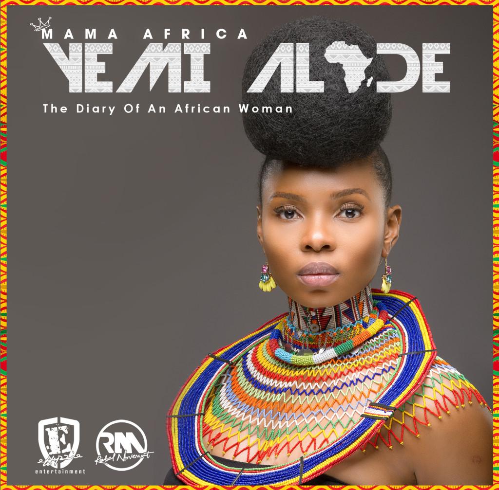 Yemi Alade - Mama Africa [Standard Album Cover Art]