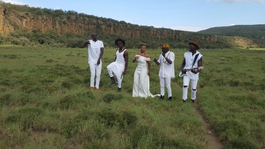 Yemi Alade x Sauti Sol [Video Shoot] (2)