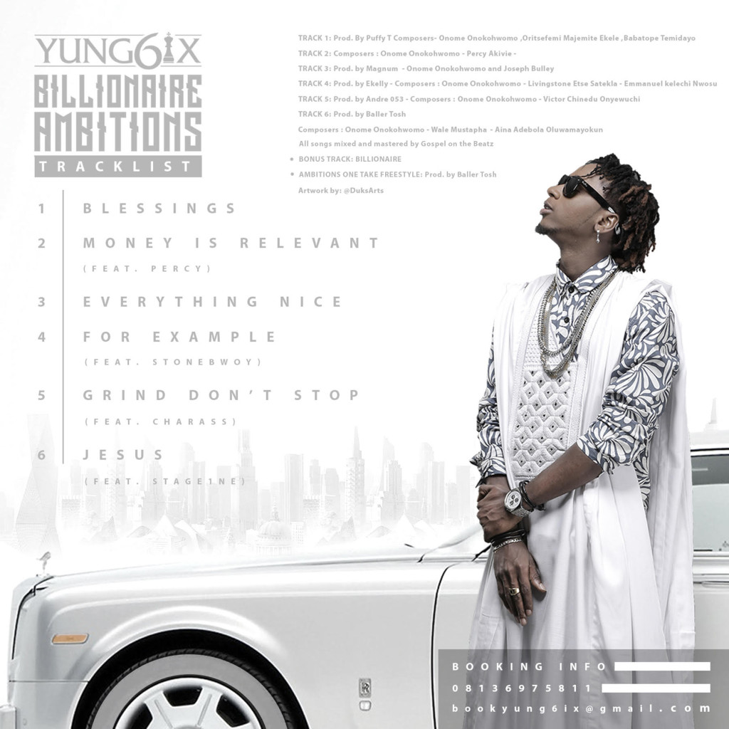 Yung6ix - Billionaire Ambitions [Back]