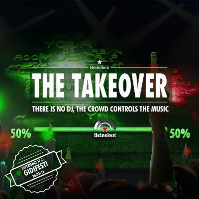 Heineken 'THE TAKEOVER'