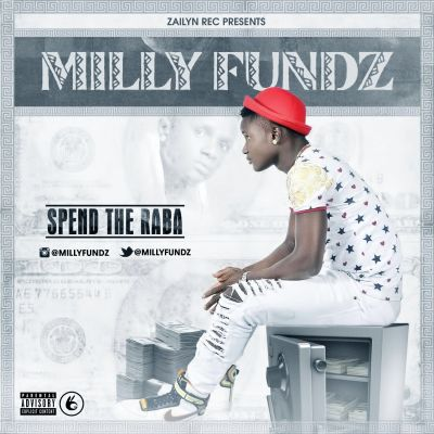 Milly fundz - spend the raba artwork