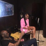 Yemi Alade & 2Face Hit Studio, Record New Music Together