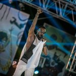 Female Fan Licks Sweat Off D'banj's Body As He Performed On Stage (Photos, Video)