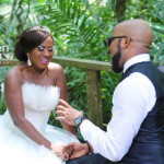 See BTS Photos From Nikki Laoye & Banky W's Onyeuwaoma Video