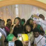 Queen Tiwa Surprises Fan With Free Performance At Her Wedding