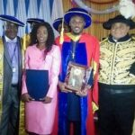 He Is A Masters Degree Holder! Tuface Idibia Conferred With Honorary Degree (Photos)