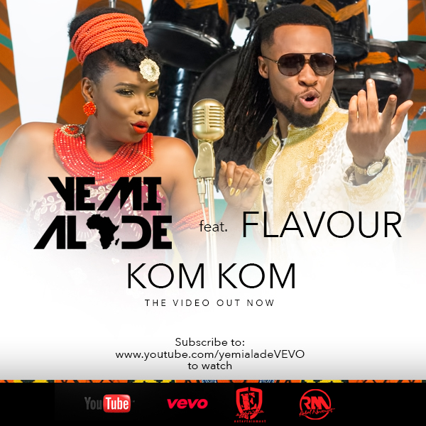 Yemi Alade - Kom Kom feat. Flavour [Video Poster]