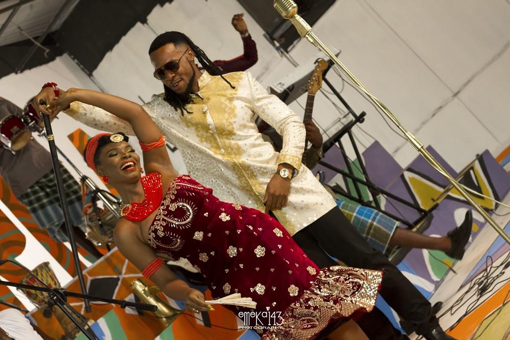 Yemi Alade - Kom Kom ft. Flavour [B-T-S Photo] (6)