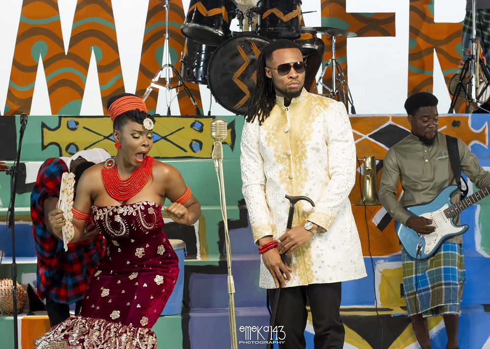Yemi Alade - Kom Kom ft. Flavour [B-T-S Photo] (9)