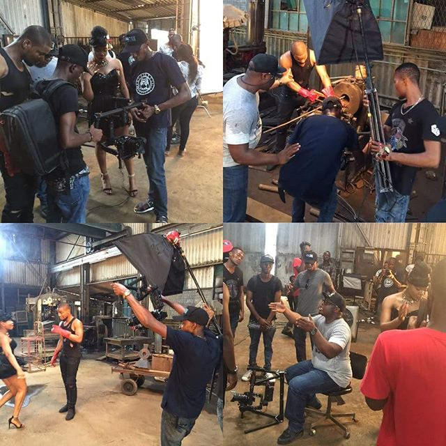 Yemi Alade Video Shoot