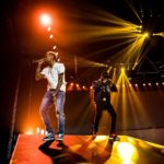 "Watch Wizkid And Chris Brown Perform ""African Bad Girl"" In Amsterdam"