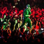 "Checkout Photos Of Wizkid From ""One Hell Of A Night"" Tour With Chris Brown"