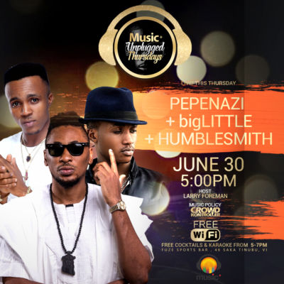 MUSIC PLUS THURSDAYS 3 ARTISTES