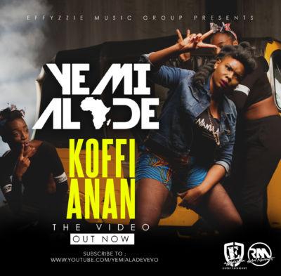 Yemi Alade - Koffi Anan [Video Poster]