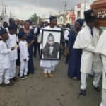 Pictures From OJB's Interment Service In Church