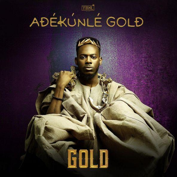Adekunle Gold - GOLD [Album Art]