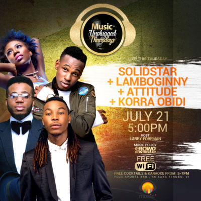 MUSIC PLUS SOLIDSTAR+LAMBOGINNY+ATTITUDE+KORRA