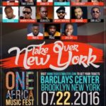 WIN FREE TICKETS TO ATTEND THE ONE AFRICA MUSIC FEST IN NEW YORK!