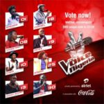It's Down To The Final 8 On The Voice Nigeria!