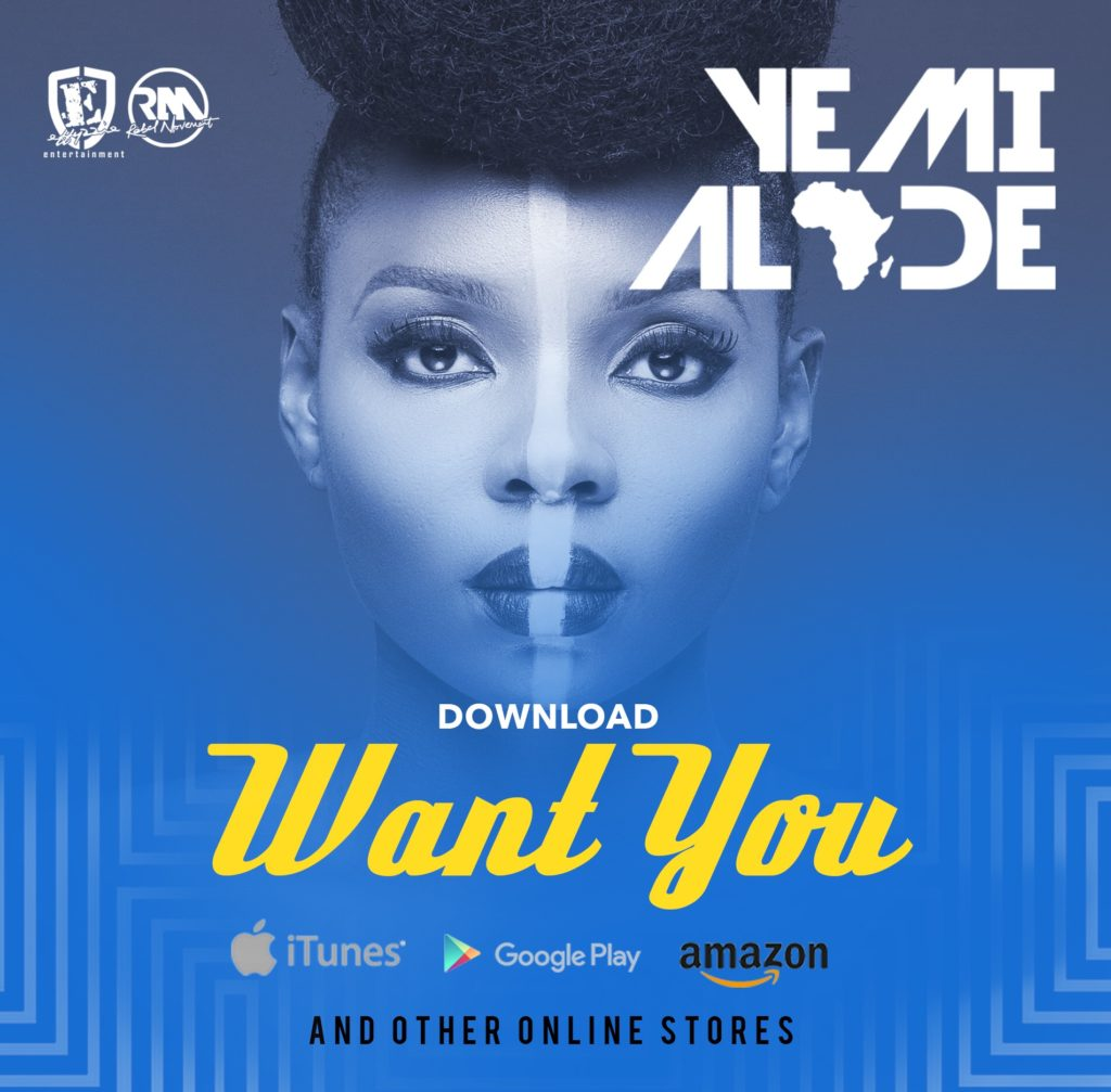 Yemi Alade - Want You [Single Art]