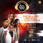 Music Unplugged Thursday : Come Party With Saeon, Poe, Tesh Carter And Moojeed