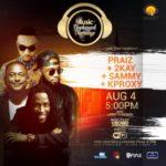 It's Music+ Unplugged Thursdays… Come Party With Praiz, Mr. 2Kay