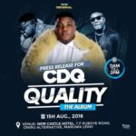 CDQ Holds Press Brief For Debut Album Launch
