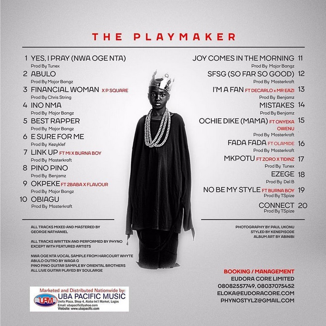 the-playmaker-tracklist